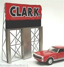 Miller's Clark Bar  Animated Neon Sign O/HO Scale Miller Engineering