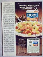 1978 Magazine Advertisement Ad Page For Armour Treet Canned Meat Coupon Ad