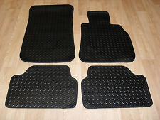 BMW 3 Series E90/91 2005-12 Fully Tailored 3mm RUBBER Car Mats Black.