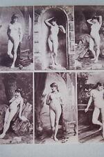 CALAVAS ETUDE DE NUS  TIRAGE ALBUMINE ALBUMEN VINTAGE PRINT 1880 PEINTURE ref14