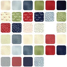 "Moda Layer Cake - Wintertide by Janet Clare - 42 fabrics 10"" x 10"""
