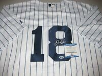 Didi Gregorius Signed New York Yankees Jersey Autograph MLB #18 Beckett BAS COA