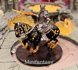 Nightmare & Narzugon D&D Miniature Dungeons Dragons Haruman Hell Knight 44 45