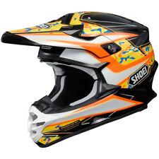 Shoei Vfx-W Motocross MX Enduro Casco Bicicleta Turmoil TC-8 Negro/Naranja