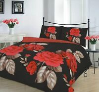 Printed Cover Bed Set Pillow Case Luxury Microfiber Isabella Single Double King