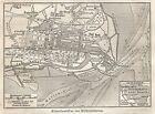 B0803 Germany - Wilhelmshaven - Carta geografica d'epoca - 1890 Vintage map