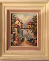 H MORLEY Oil On Board Framed signed