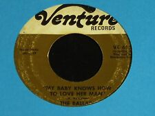 The Ballads-My Baby Knows How To Love Her Man-Northern Soul 45 on Venture!