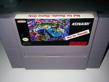 TMNT IV Teenage Mutant Ninja Turtles SNES Not For Resale NFR | Hard to Find Rare