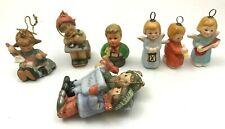 Goebel / Hummel : Six Ornaments + One Other - Excellent.