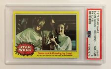 1977 TOPPS STAR WARS TRADING CARD - SERIES 3: YELLOW - #141 SOME QUICK - PSA 8