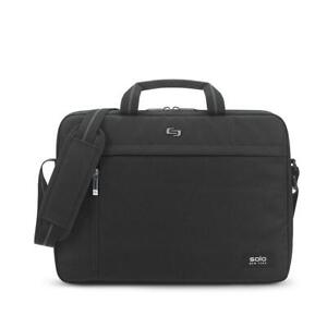 "Solo New York Rivington Slim Briefcase Fits 15.6"" Laptop, Black"