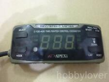 JDM APEXI RSM Rev Speed Meter Serial No RSM2 9805-0752 Original Harness complete