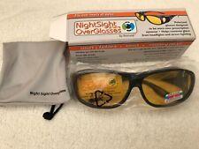 Mirino NOTTURNO OVERGLASSES UV400 protezione, unisex New & Tagged