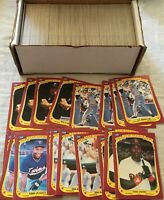 (358) 1986 Fleer Star Stickers cards Canseco Gwynn Mattingly Puckett Ripken Ryan