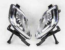 Euro Clear Front Fog Lights Kit w/ Bulbs RH LH FITS Hyundai Elantra 4dr 11-13