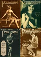 18 OLD ISSUES OF PANTOMIME - ILLUSTRATED MOVIE FAN MAGAZINE (1921-1922) ON DVD