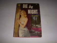 DIE BY NIGHT by M.S. MARBLE, Graphic Novel #102, 1955, Vintage Paperback!