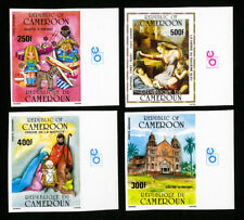 Cameroon Stamps # 329-32 Raphael Painting Christmas Imperforate XF OG NH Lot