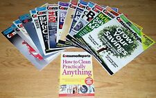 Consumer Reports Lot 14 Issues Sep 2013 - Oct 2014 & How to Clean...
