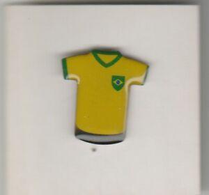 Pin metaal / metal - Voetbal / Footbal Shirt - Brazilië