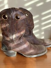Men's Tony Lama TL3000 Black Square Toe Cowboy Boots 9 D
