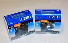 2x  LEZEN 9005 +9006 Super White Xenon Halogen Bulbs 100w/100w
