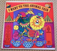 I WENT TO THE ANIMAL FAIR BY THE  GOLDEN SINGERS CHILDREN'S VINYL LP SEALED!