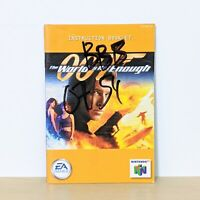 007 The World Is Not Enough Nintendo 64 N64 Original Instruction Booklet Manual