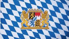 Bayern Freistaat mit Löwenwappen Flagge Fahne 1,50x2,50 XXL Bayrische Löwen NEU
