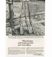 1963 Winchester .22 Rifle Model 250 290 270 Vintage Print ad