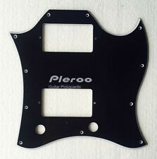 Gibson Standard SG Face Guitar pickguard With PAF Humbuckers , 5Ply Black