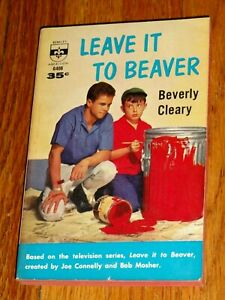 Leave It To Beaver BEVERLY CLEARY 1960 TV Tie-in First Edition paperback