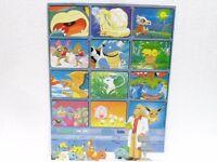 Pokemon POSTER OAK NINETALES KUBONE HITMONLEE HITMONCHAN etc. cm. 24,5 x 33,5