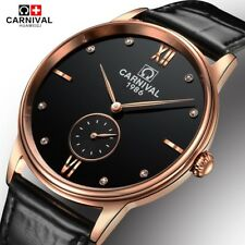 2017 New Genuine Carnival Watch Men Automatic Mechanical Watches Brand Luxury