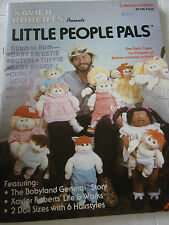 Vtg 1992 Little People Pals Pattern Book ONLY #7546 Xavier Roberts Soft Doll