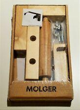 IKEA MOLGER Toilet Paper Holder Solid Wood Birch - NEW