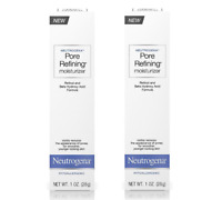2 PACK Neutrogena Pore Refining Moisturizer, 1 Oz ( Damaged Box)