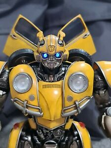 "3A ThreeA ThreeZero DLX Scale 8"" Transformers Bumblebee Movie Bumblebee Figure"