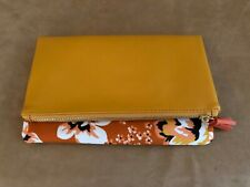 Rachel Pally Clutch Reversible Zahara NEW Spring orange flowers bag fabfitfun