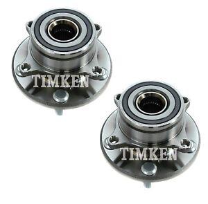 Pair Set of 2 Front Timken Wheel Bearing & Hub Kit for Acura MDX Honda Pilot AWD