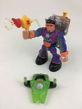 "Para Chute Talking Asteroid Tool Fisher Price Rescue Heroes 6"" Action Figure A25"