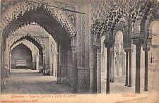 BR37227 Alhambra Sala de justicio y Patio de leones Granada spain