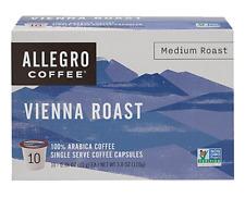 Allegro Vienna Medium Roast K-CUP Capsule 10 count (Pack of 6, 60 Total)