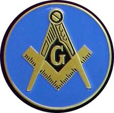 Blue Lodge Masonic Freemasonry Bumper Sticker