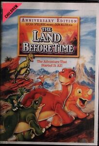 The Land Before Time DVD - Ex Rental - Free Post