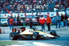 Patrick Tambay Renault RE60 San Marino Grand Prix 1985 Photograph 1