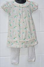 George Cotton Blend Floral Dresses (0-24 Months) for Girls