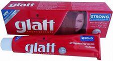 85 ml. Schwarzkopf GLATT Hair Straightener Cream STRONG For Very Curly Hair +Tra