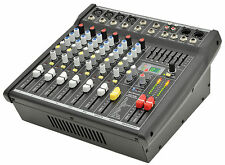 CITRONIC CSP-408, 8 INPUT 400W COMPACT POWERED MIXER WITH DSP